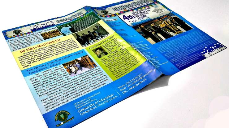 University of Education Lahore Newsletter